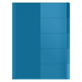 Lajittelukansio A4 sininen 5-osainen