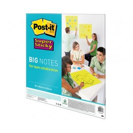 Post-It Super Sticky Big Notes 55,9x55,9cm neonvihreä