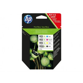 HP 950XL+951XL Value Pack Mustepatruunasarja