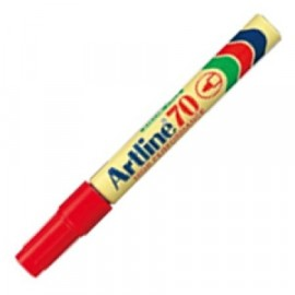 Huopakynä 1,5mm Punainen Pyöreä Artline 70