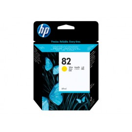 HP no 82 c4913a mustepatruuna yellow