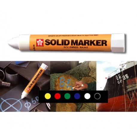 MAALIKYNÄ Sakura Solid Marker /12kpl