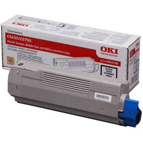 OKI C5650/C5750 Magenta Värikasetti 6K