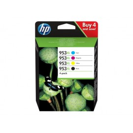 HP  No 953XL CMYK Value Pack Mustepatruuna
