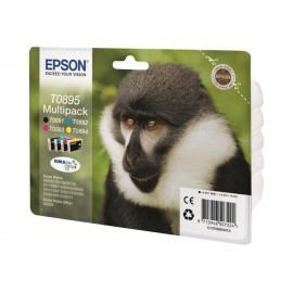 Epson T0895 Multipack Mustepatruunat 4-väriä