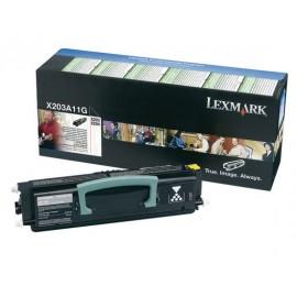 Lexmark X203A11G Musta Laserkasetti 2,5K