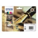 Epson T162 (16) Multipack 4 mustepatruunaa CMYK