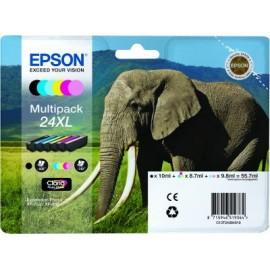 Epson T2438 (24XL) Multipack 6 mustepatruunaa