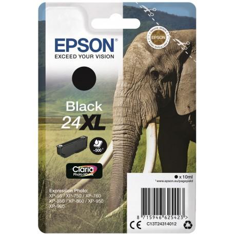 Epson T2431 (24XL) Musta Mustepatruuna