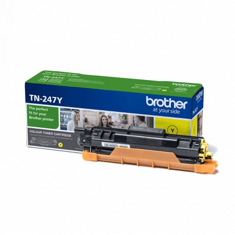 Brother TN-247Y Yellow 2,3K Laserkasetti
