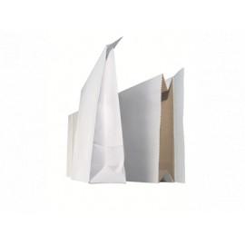 Tarranäytepussi 250x380x70mm valkoinen /100kpl
