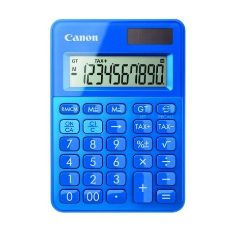 Canon LS-100K pöytälaskin sininen