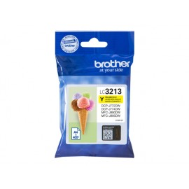Brother LC-3213Y Yellow Mustepatruuna 400 sivua