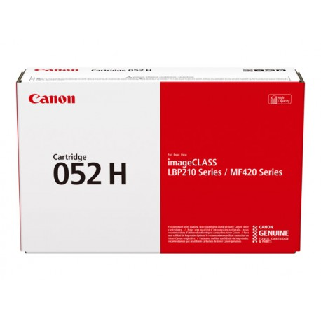 Canon 052H Musta Laserkasetti 9,2K