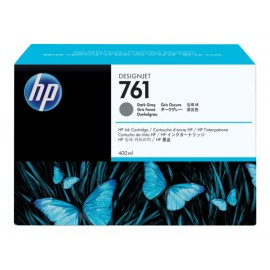 HP 761 ink cartridge dark grey 400ml