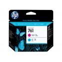 HP 761 printhead magenta and cyan