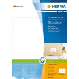 Herma 8690 Tulostustarra A5 148,5x205mm /400arkkia