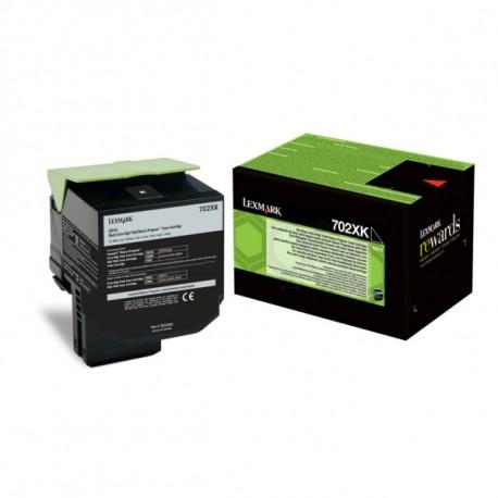 Lexmark 70C2XKE Musta Laserkasetti 8K