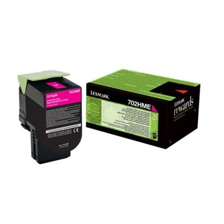 Lexmark 70C2HME Magenta Laserkasetti 3K