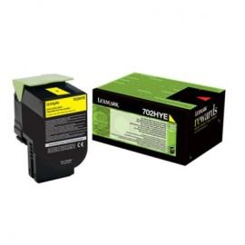 Lexmark 70C2HYE Yellow Laserkasetti 3K