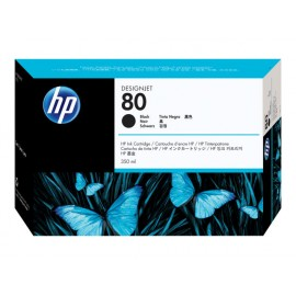 HP No 80 Musta Mustepatruuna 350ml