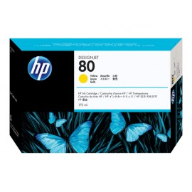 HP No 80 Yellow Mustepatruuna 175ml