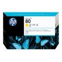 HP No 80 Yellow Mustepatruuna 175ml