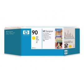 HP No 90 Yellow Mustepatruuna 400ml