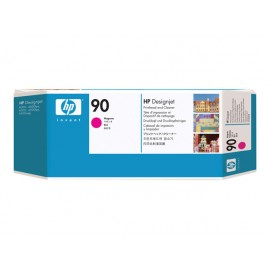 HP No 90 Magenta Print Head & Cleaner