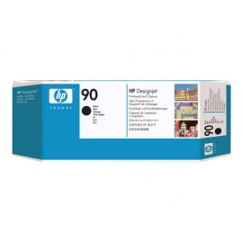 HP No 90 Black Print Head & Cleaner