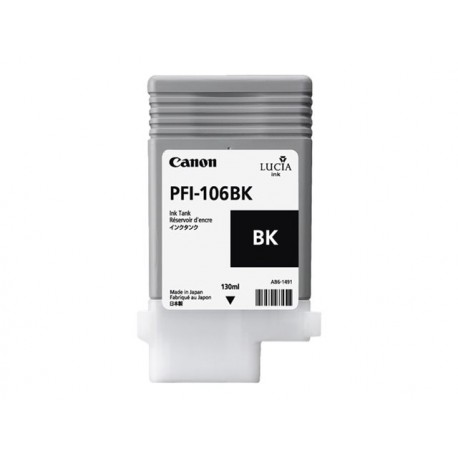 Canon PFI-106BK Black 130ml
