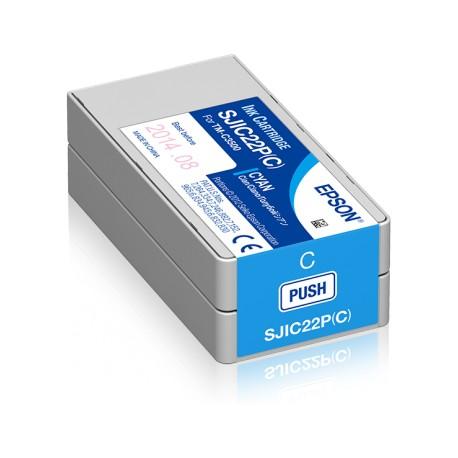 Epson ColorWorks C3500 Cyan Mustepatruuna 32,5ml