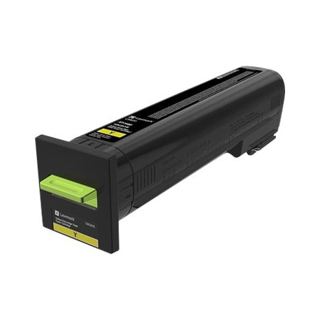 Lexmark 72K20Y0 Yellow Laserkasetti 8K CS820/CX825