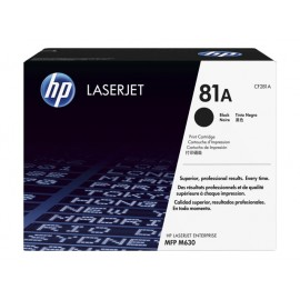 HP 81A Musta Laserkasetti 10,5K (CF281A)