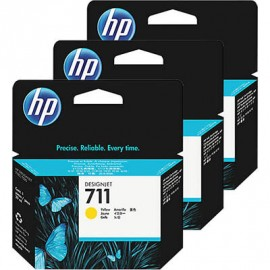 HP No 711 Yellow 29ml Mustepatruuna (CZ132A)