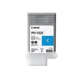 canon pfi-102 cyan 130ml (dye)