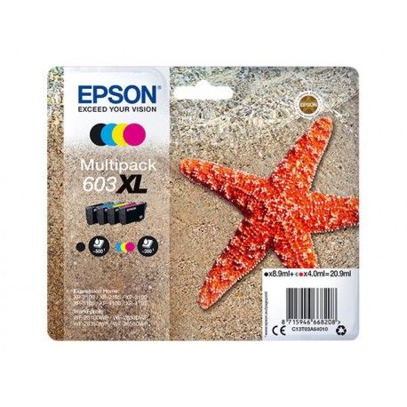 Epson 603XL Multipack BK/C/M/Y