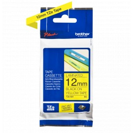 Brother TZe-631 12mm Musta/Keltainen (P-Touch)