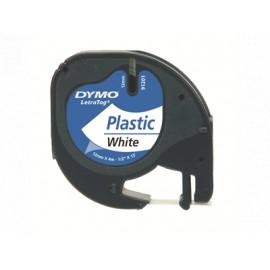 Dymo LetraTAG 12mm/4m Valkoinen