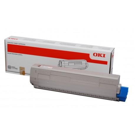 OKI C822/C831/C841 Musta 7K Värikasetti