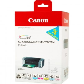 Canon CLI-42 Multipack BK/C/M/Y/PM/PC/GY/LGY