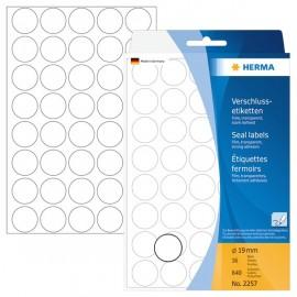 Herma 2257 Sinettitarra 19mm /640