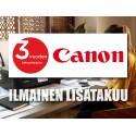 Canon-lisätakuun takuurekisteröinti