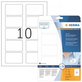 Nimitarra Herma 4587 80x50mm Valkoinen