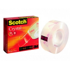 Yleisteippi Scotch 600 Crystal 19mmx33m