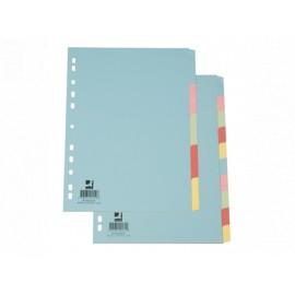 Hakemisto 10-osainen Värikartonki BLANCO