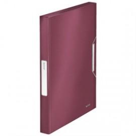 Leitz Style Laatikkokansio 30mm PP Granaatinpunainen