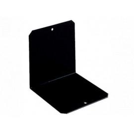 Kirjatuki Musta 12,5cm metalli /1kpl