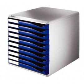 Vetolaatikosto Leitz 5281 10-os sininen