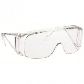 Suojalasi Honeywell Polysafe silmälasien päälle kirkas